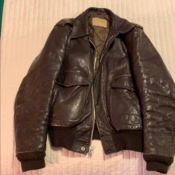 9cdf9ab54 Vintage Schott bomber flight jacket